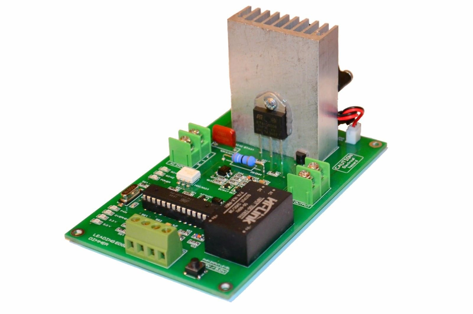 16A PWM 3500W 80V 240V AC Phase Dimmer 50-60HZ High Power Compatible With Arduino, Raspberry