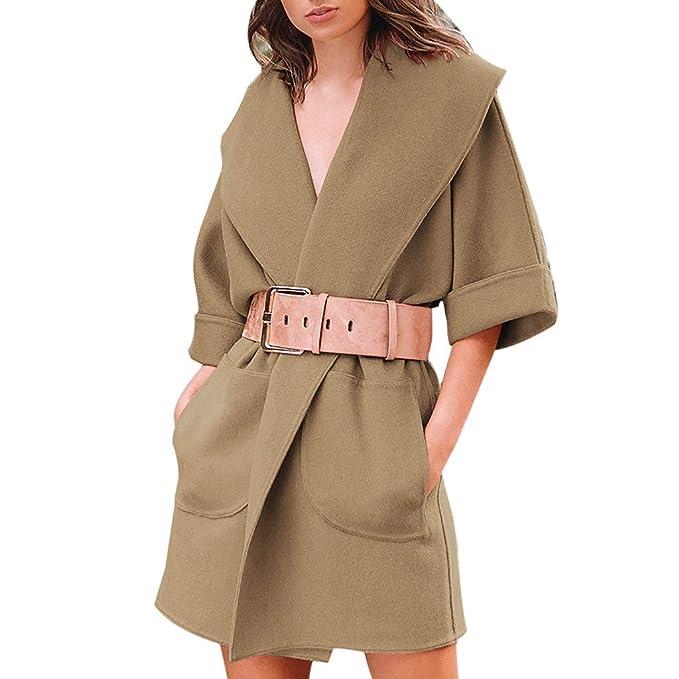 Chaqueta Mujer Abrigo Invierno Rebajas, EUZeo, Otoño Pana Outwear Elegantes Sudadera Slim Moda Informal Ropa Abrigo de Parka Remata Grueso de la Chaqueta: ...