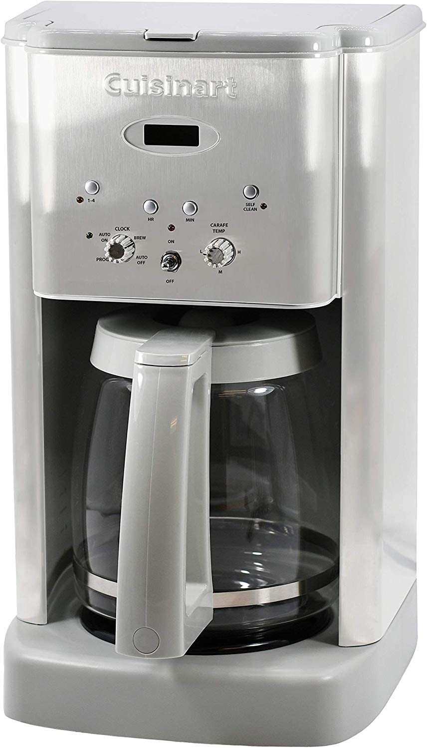Cuisinart DCC-1200CGR Brew Central 12 Cup Programmable Coffeemaker, Light Grey