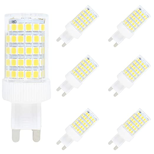 G9 3W LED Corn Light Dimmable Capsule Bulb Replace Lamp SMD2835 AC220-240V White
