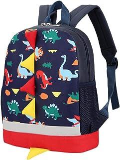 zhenghewyh Bambini Zaini Scuola Borse Dinosauro Bambino Piccolo Ragazzi Ragazze Daypacks 1-6 Anni .