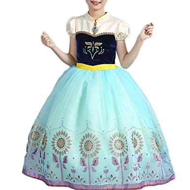 4182423d8c103 アナ ドレス キッズ ハロウィン コスプレ 子供 ディズニーアナと雪の女王 アナ コスプレ 衣装 プリンセス