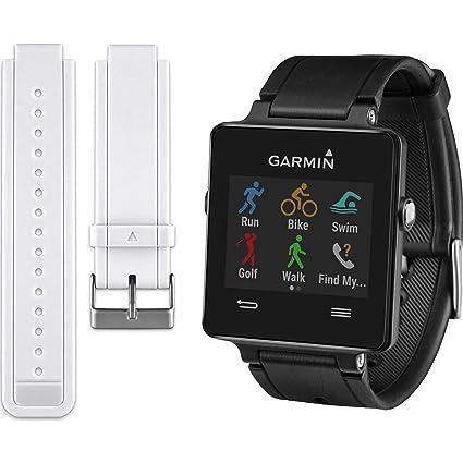 Amazon.com: Garmin Vivoactive SmartWatch Bundle – Negro w ...