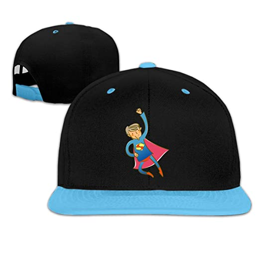 b5d8a13a2 Amazon.com: CCVVG1 Superman Personalized Adjustable Snapback Hip Hop ...