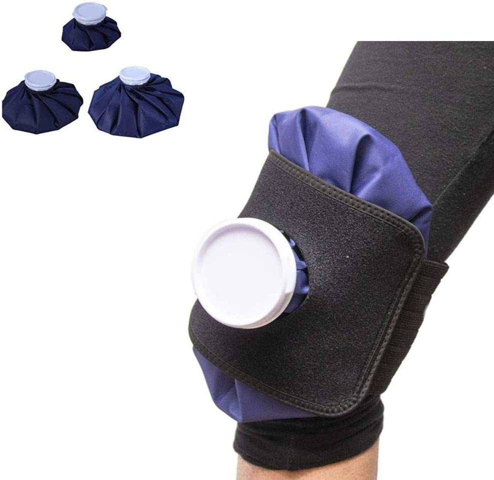 Knee Ice Packs for Injuries Sports Reusable Cooling Neck Wrap Physical Therapy Pain Relief Muscle Pain Round Hot Cold Therapy Pack Cooling Knee Ankle Elbow Shoulder Foot Neck Back & eBook by STSSLTD