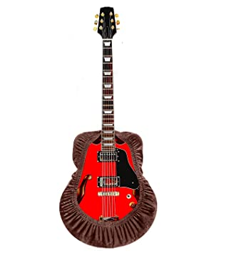 Funda para guitarra, protector de guitarra ajustable, funda protectora para guitarra eléctrica acústica, se adapta a guitarras clásicas, flamenco, ...