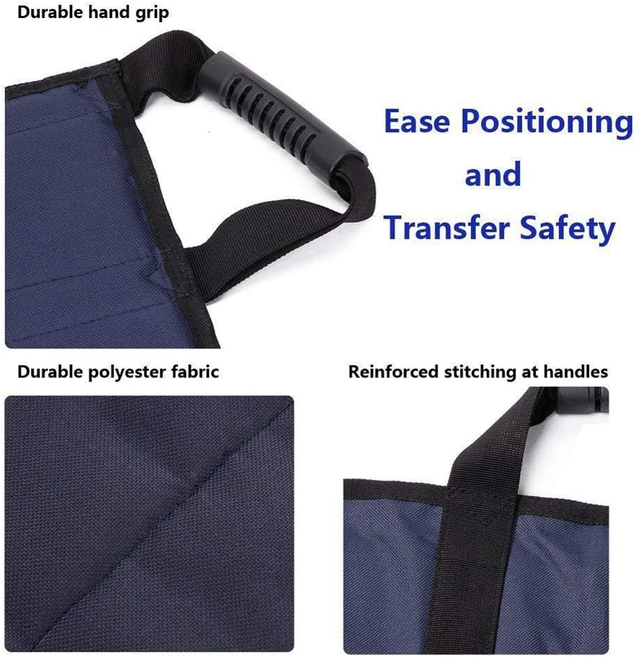 ditional Patient Nursing Transfer Belt Pad Slide Bed Assistance Devices Medical Emergency Wheelchair Transport Belt Extra Long Size Waterproof Safety Pad