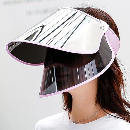 0eea2db2b8509 Amazon.com  CJC Bucket Hats Sun Hat Polarized Ladies Visor Female Full  Coverage Women s Summer Cap Visor Anti-UV Cycling Sun Protection Camping  Cap ...