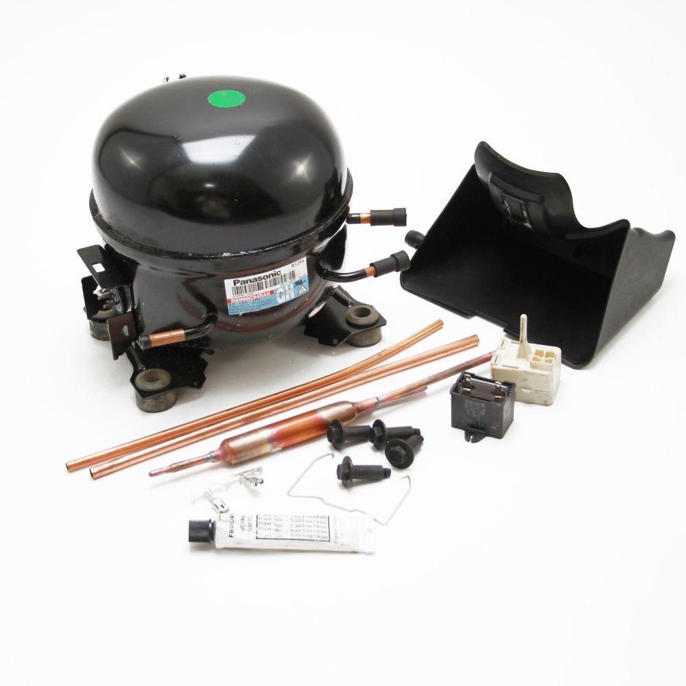 5304478809 Refrigerator Compressor Kit Genuine Original Equipment Manufacturer (OEM) Part