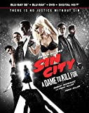 Sin City: A Dame to Kill For (Blu-ray 3D + Blu-ray + DVD + Digital HD)