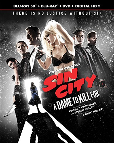 Blu-ray : Frank Miller's Sin City: A Dame to Kill for (With DVD, With Blu-Ray 3-D, Ultraviolet Digital Copy, 3 Pack, 3 Disc)