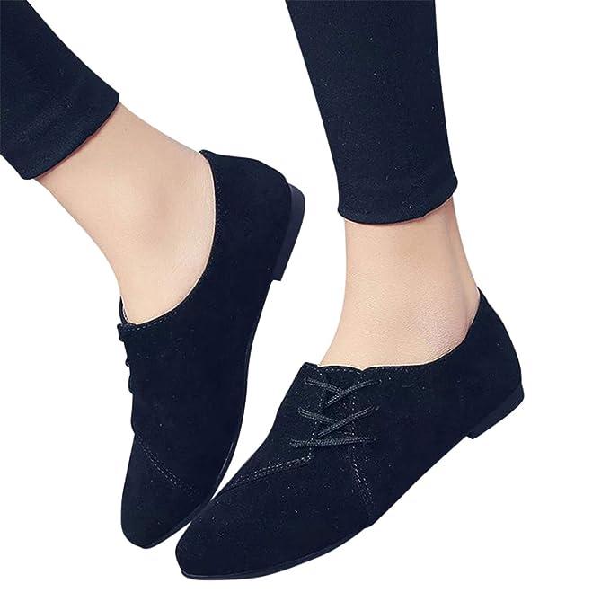 2019 Zapatillas Mujer Planas De Color Solido Botines En Suelas Cómodas Con Cordones Cruzados Decorativos Mocasines Zapatos Casuales Transpirable De Verano ...