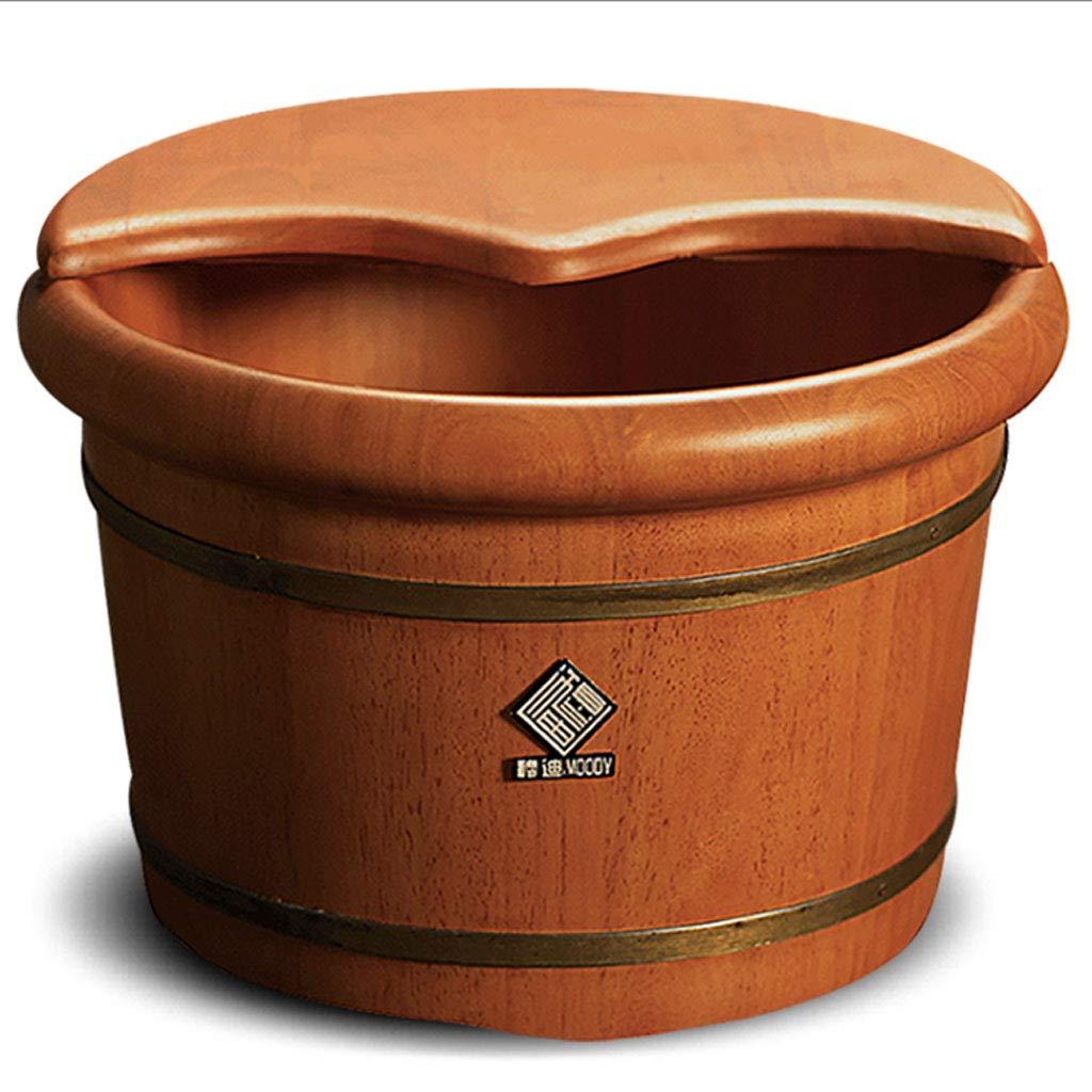 【ギフト】 ZDD H26cm) 足浴槽- フットバス B07G5QL2TS、鍼治療マッサージフットバスバレルソリッドウッドフットバスバレル(W31.5cm** H26cm) B07G5QL2TS, Caring heart(キャリングハート):069f102e --- arianechie.dominiotemporario.com