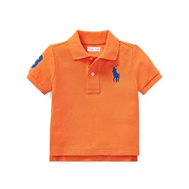 Violet Ralph Orange Polo Lauren Et 6gvbYf7y