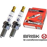 BRISK Silver Racing AR12YS 1518 Bujías de Encendido