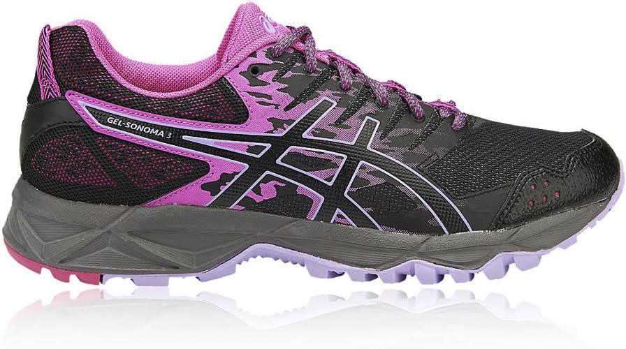 ASICS Gel-Sonoma 3, Zapatillas de Trail Running para Mujer: Amazon ...