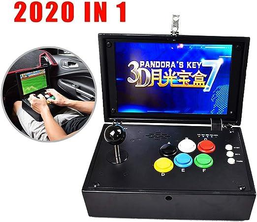 Wellouis Consola de Videojuegos 3D Arcade, 2020 en 1 (2177 en 1 ...