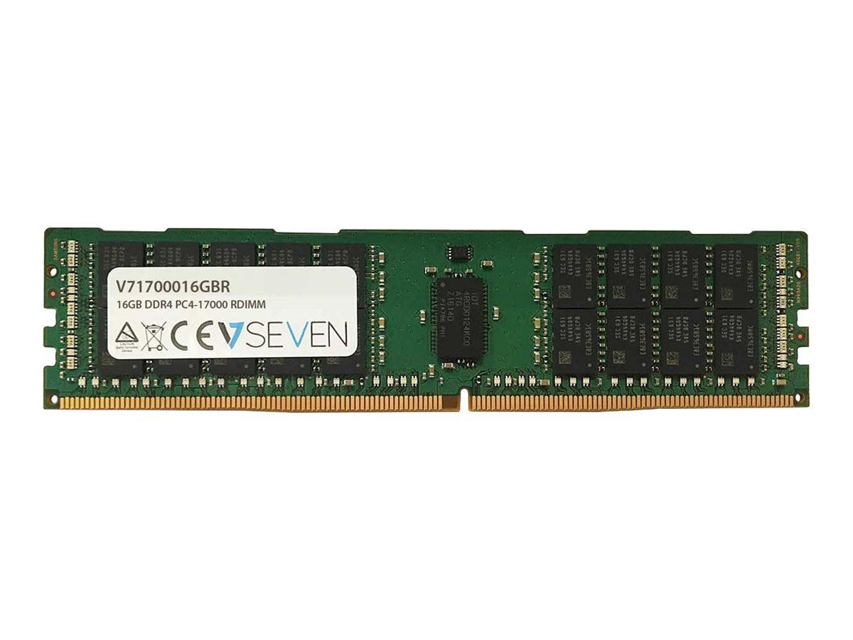 Memoria RAM 16GB V7 DDR4 2133MHZ CL15 Server REG PC4-17000 1.2V (V71700016GBR)