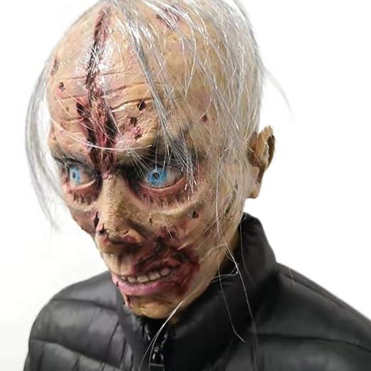 GT Halloween Látex, Adulto, Terror, Terrorífico, Adecuado para Bar ...