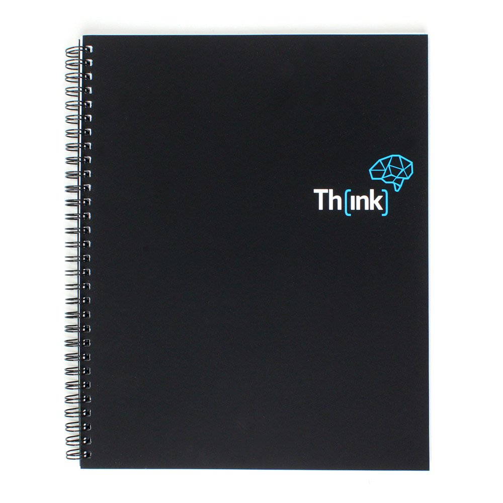 Bullet Journal Dotted Spiral Notebook | For College or the Office, Daily Writing Journals and Travelers Diary | A4 Size (10 x 8 inch) with 120gsm Paper by Think