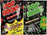 Pop Rocks Strawberry/Watermelon, 0.33 Ounce Packet, 36 Count