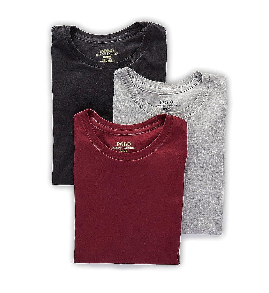 Polo Ralph Lauren Mens Classic Crew Neck Undershirts 3-Pack LCCNH3