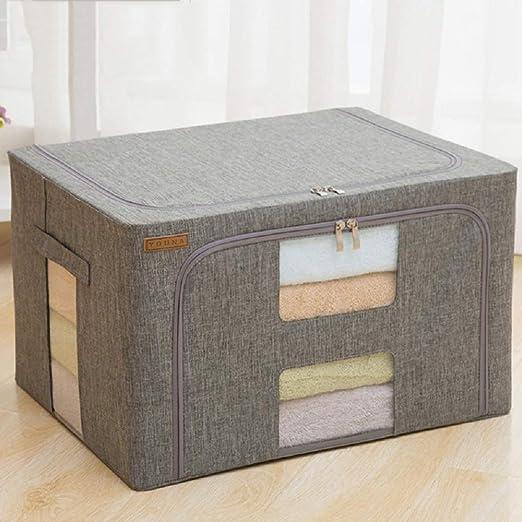 Caja de almacenamiento impermeable de tela Oxford, caja plegable ...