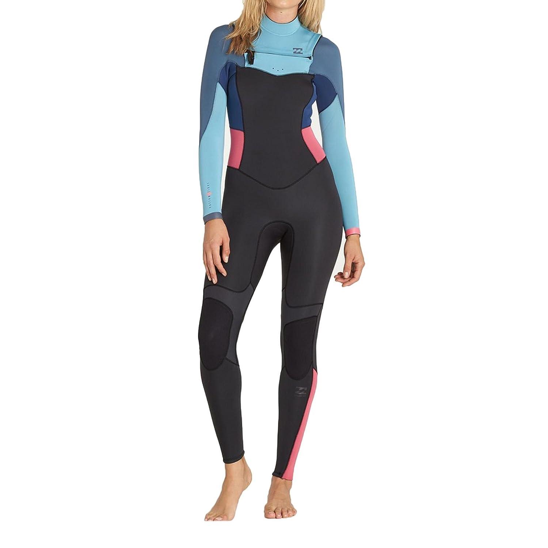 c554247360 BILLABONG Womens 3 2MM Synergy Chest Zip Wetsuit Agave with Thermal Lining  with Thermal Lining  Amazon.co.uk  Sports   Outdoors