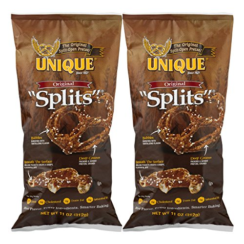 - Unique Pretzel Splits, Original, (Two - 11 Oz. Bags)