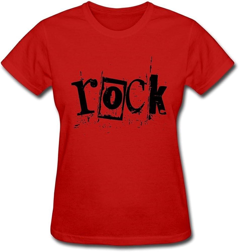 Women's Tees Rock Music Purple