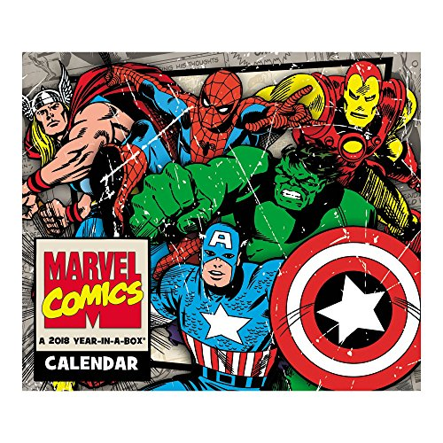 2018 History of Marvel Calendar (Year-In-A-Box)