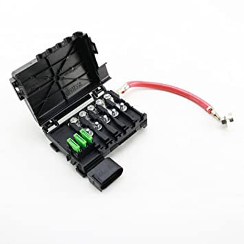 61 caW8KhXL._SY355_ amazon com fuse box battery terminal fit for vw jetta golf mk4 vw battery top fuse box at bayanpartner.co