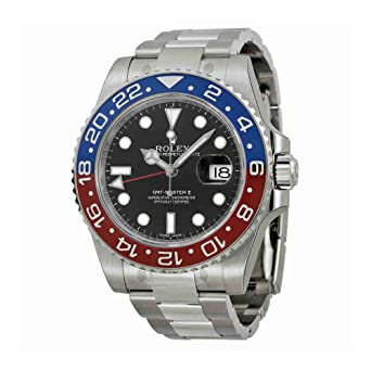 6b9dbfead Image Unavailable. Image not available for. Color: Rolex GMT-Master II  White Gold ...