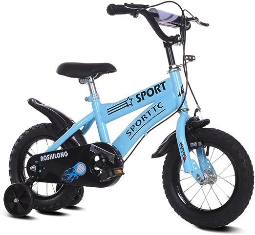 Bicicletas para niños Guo Shop 12/14/16/18 Pulgadas Bicicleta 2-3-5-7 Años de Edad Niños y Niñas Alumnos Carro de bebé con Rueda de Entrenamiento (Tamaño : 16