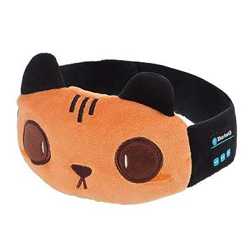 Auriculares Bluetooth Inalámbricos Inteligentes Máscara De Ojo Auricular De La Mujer Dormir Cascos,Regalos De
