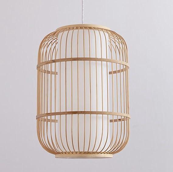 Daeou Bambus Holz Leuchten Gang Restaurant Engineering Bambus Kunst