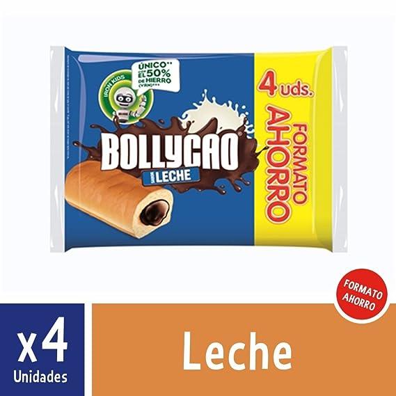 Bollycao Leche 4 unidades (formato ahorro) de 240 gr (60 gr ...