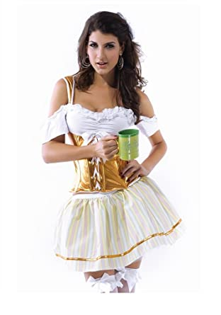 Shangrui Womens Cosplay Costumes Flat Shoulder Corset Bubble Skirt   Amazon.co.uk  Clothing cf106ca24