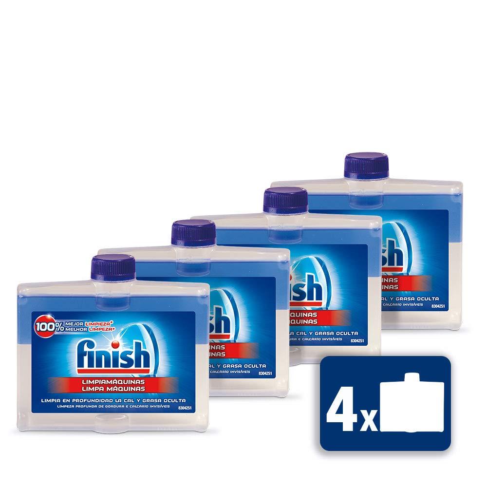 Finish Limpiamáquinas Regular Líquido para Lavavajillas, pack de 3 ...