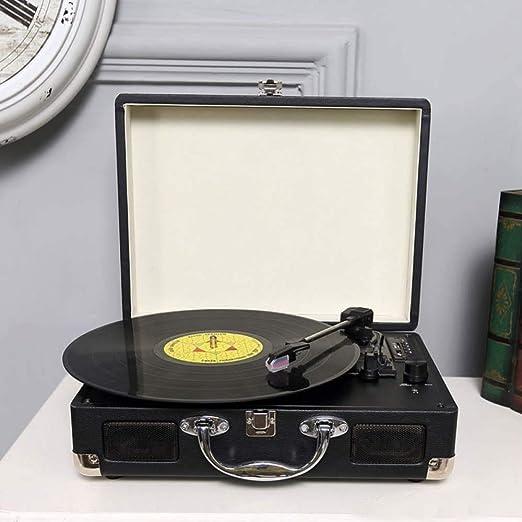 phonograph Reproductor Portátil De Tocadiscos De Vinilo Giratorio ...