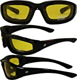 Motorcycle Yellow Riding Glasses Sunglasses with