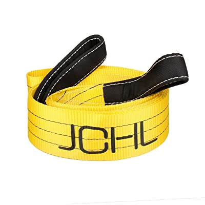 JCHL Tree Saver Strap, 3 inchX9 Foot Winch Strap, Tow Strap, Heavy Duty 36,000 Pound Capacity: Automotive