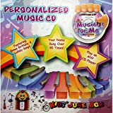 """Children's Personalized SING YOUR NAME Music CD - Music For Me Volume 1 - """"CUSTOMIZE WHEN ORDERING"""""""