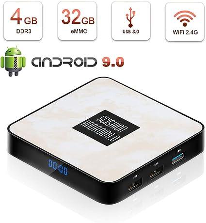 Android TV Box 4GB RAM 64GB ROM A95X F2 Android9.0 TV Box Amlogic S905X2 Quad-Core 64bits Dual-WiFi 2.4G//5.0G// 3D 4K Ultra HD// H.265// USB 3.0// HDMI 2.0 Smart TV Box