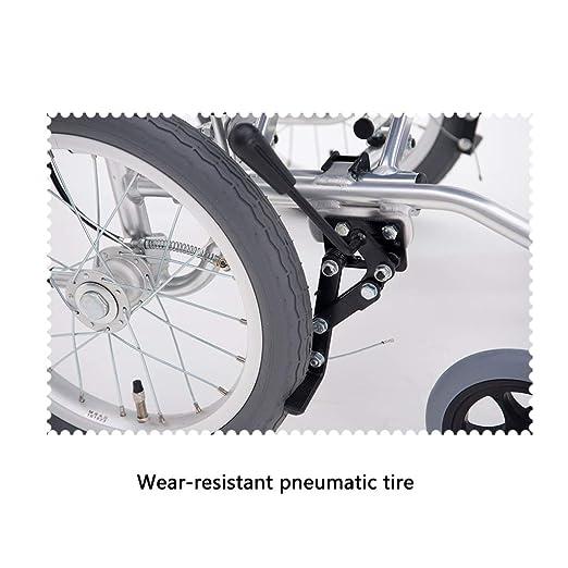 Amazon.com: Sillón de ruedas YE ZI – Aleación de aluminio ...