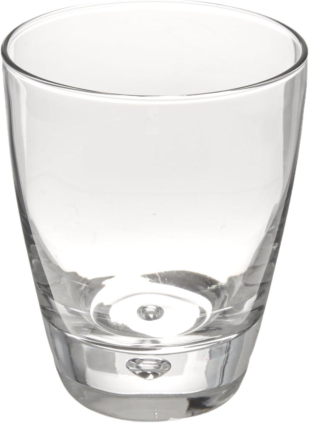 Bormioli Rocco Luna Double Old Fashioned Glasses, Clear, Set of 4
