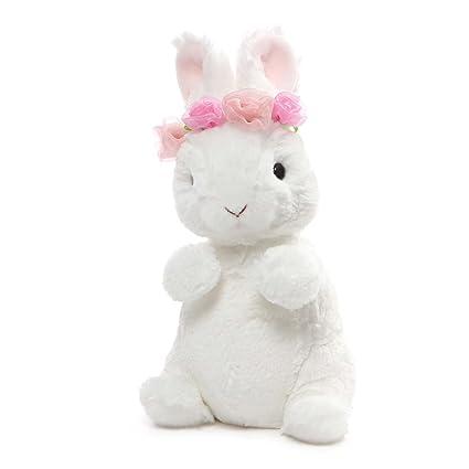 Amazon Com Gund Dahlia Mini Stuffed Animal Bunny Rabbit Plush
