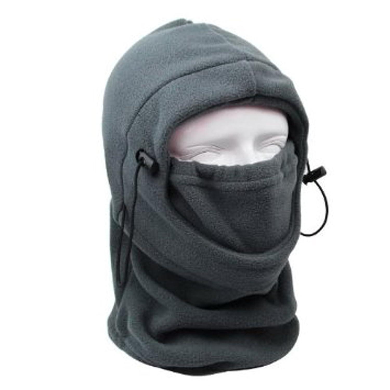Coxeer® 6 in 1 Fleece Balaclava Skimaske Sturmhaube Windmaske