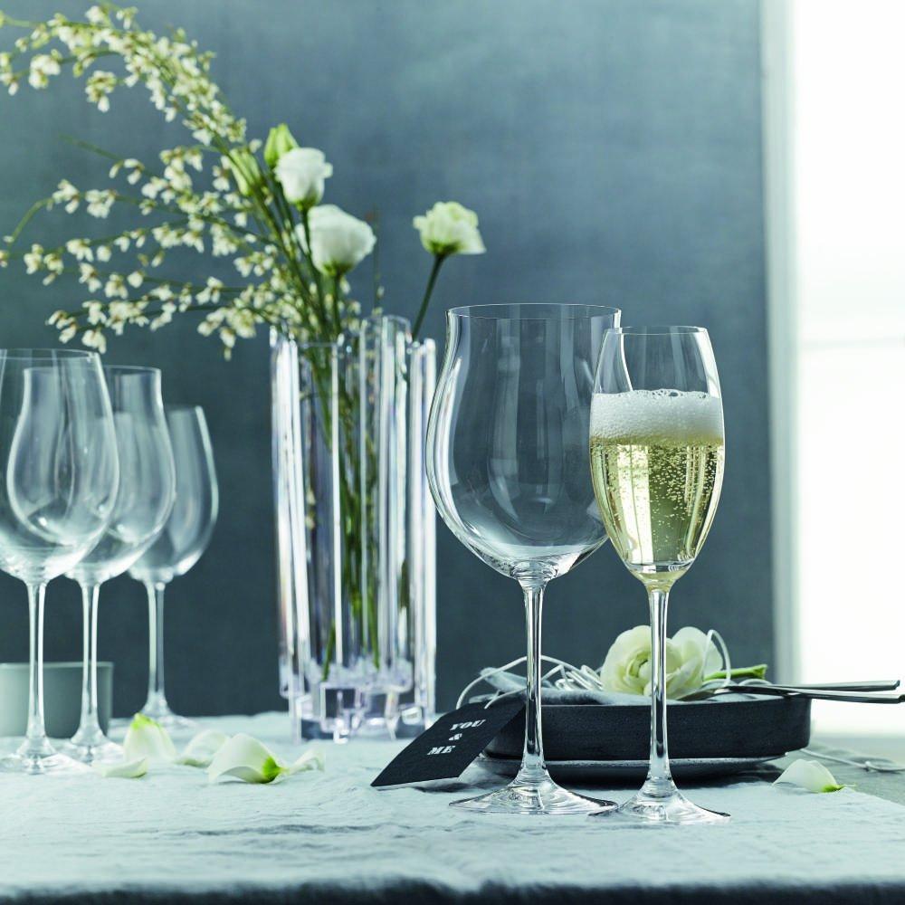 Spiegelau & Nachtmann, 5-teiliges Dekantierset, Dekantierkaraffe + + + 4 Weingläser, Kristallglas, Vivendi, 0093605-0 B0039GP72I Sektkelche f41790
