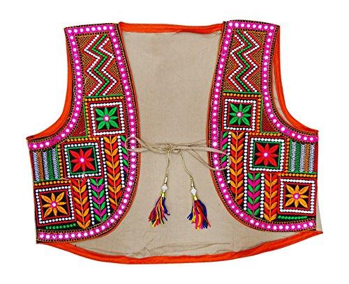 Peegli Kutch Embroidered Rajasthani Jacket Traditional Women Shrug Koti ()